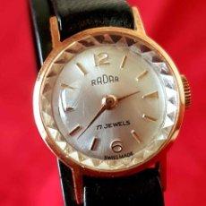 Relojes de pulsera: RELOJ RADAR DE CUERDA, SWISS MADE, VINTAGE, NOS (NEW OLD STOCK). Lote 196786105