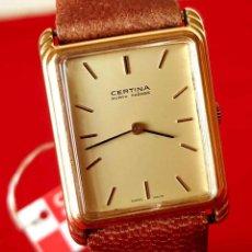 Relojes de pulsera: RELOJ CERTINA DE CUERDA, SWISS MADE, VINTAGE, NOS (NEW OLD STOCK). Lote 196908942