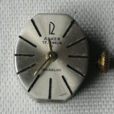 Relojes de pulsera: PEQUEÑO MECANISMO DE RELOJ DE PULSERA DE SEÑORA.MARCA ANKER.. Lote 197039303