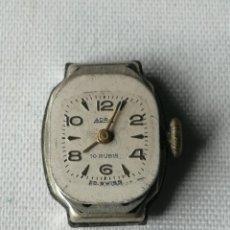Relojes de pulsera: PEQUEÑO MECANISMO DE RELOJ DE PULSERA DE SEÑORA MARCA ADRA.20 MIKRON.. Lote 197040632