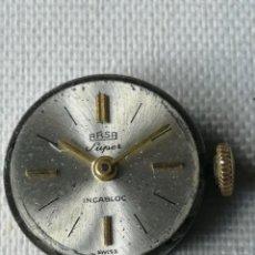 Relojes de pulsera: PEQUEÑO MECANISMO DE RELOJ DE PULSERA DE SEÑORA MARCA ARSA SUPER.. Lote 197045101