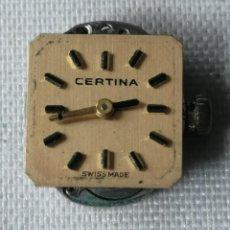 Relojes de pulsera: PEQUEÑO MECANISMO DE RELOJ DE PULSERA DE SEÑORA MARCA CERTINA 13-20.. Lote 197046732