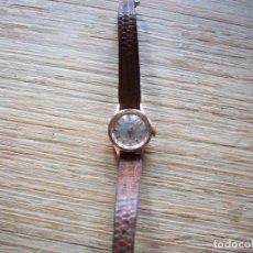 Relojes de pulsera: RELOJ DE PULSERA SEÑORA DUWARD . ORO 18 KILATES Y ACERO . CARGA MANUAL .. Lote 198144601