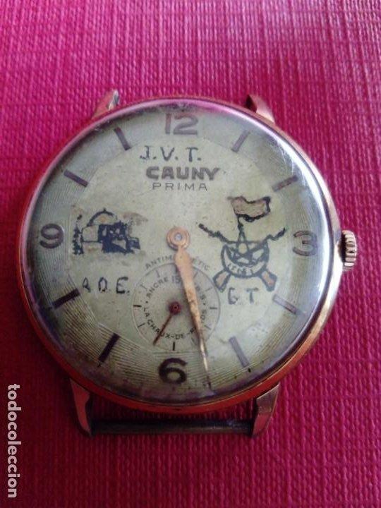 ORIGINAL RELOJ CAUNY PRIMA DE 37,5 MM (Relojes - Pulsera Carga Manual)