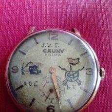 Relojes de pulsera: ORIGINAL RELOJ CAUNY PRIMA DE 37,5 MM. Lote 198292706