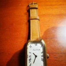 Relógios de pulso: RELOJ DENNIS BOUILLER SWISS MADE CARGA MANUAL FUNCIONA EL ESTADO EXTERIOR EL QUE SE VE EN LAS FOTOGR. Lote 198326525