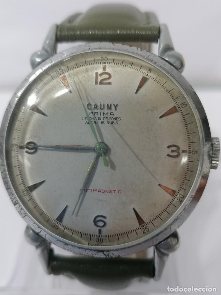 CAUNY (Relojes - Pulsera Carga Manual)