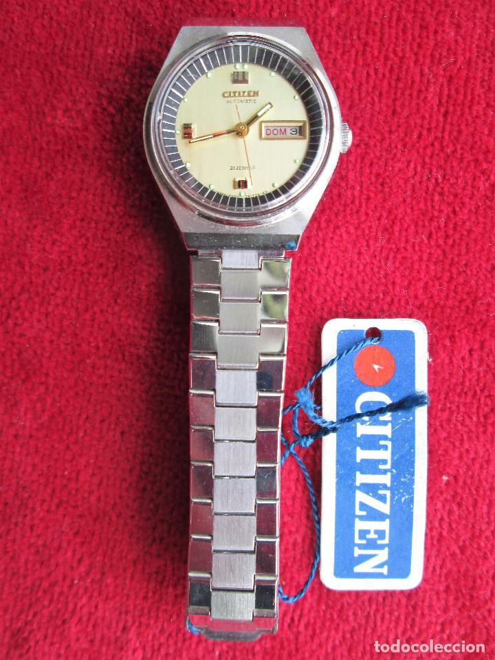 Relojes de pulsera: RELOJ DE PULSERA CITIZEN CARGA MANUAL - FUNCIONANDO - CORREA ORIGINAL DE ACERO INOXIDABLE - Foto 2 - 199157891