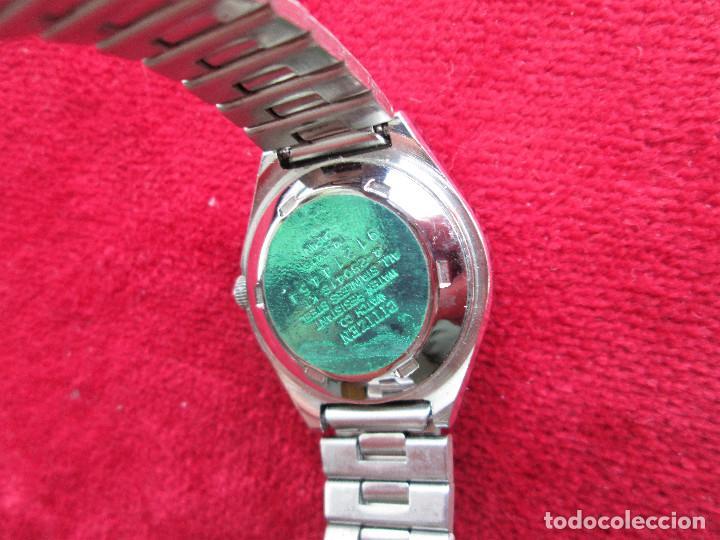 Relojes de pulsera: RELOJ DE PULSERA CITIZEN CARGA MANUAL - FUNCIONANDO - CORREA ORIGINAL DE ACERO INOXIDABLE - Foto 4 - 199157891