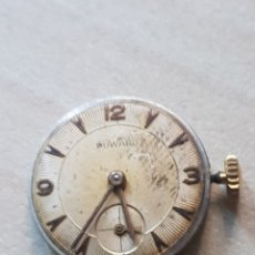 Relojes de pulsera: MAQUINA DE RELOJ DUWARD DE MUJER MIDE 22 MM SIN CORONA NO FUNCIONA. Lote 199229096