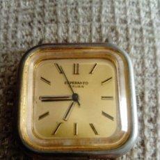 Relojes de pulsera: RELOJ ESPERANTO. Lote 199256132