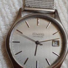 Relojes de pulsera: RELOJ DUWARD INCABLOC AÑOS 70. Lote 199265330