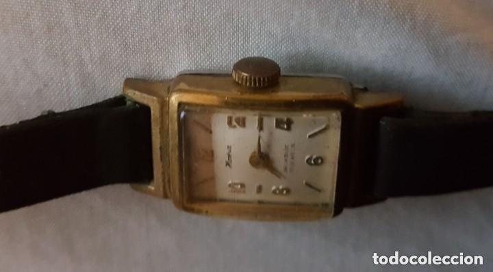 Relojes de pulsera: HOMA INCABLOC 17 JOYAS 1942 - RELOJ DE SEÑORAS ORO PLATEADO - Foto 3 - 199669248