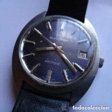Relojes de pulsera: RELOJ VINTAGE BUCHERER ELECTRÓNICO DE ACERO INOXIDABLE PARA HOMBRE ELECTRÓNICO RESISTENTE AL AGUA R. Lote 199669676