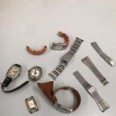 Relojes de pulsera: LOTE DE RELOJES Y CORREAS Y MÁS VER FOTOS. Lote 199672957