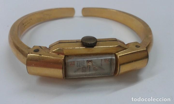RELOJ CAUNY PRIMA ANCRE 17 RUBIES CHAPADO 10 MICRAS (Relojes - Pulsera Carga Manual)