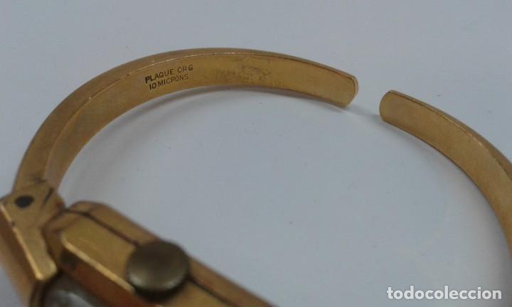 Relojes de pulsera: RELOJ CAUNY PRIMA ANCRE 17 RUBIES CHAPADO 10 MICRAS - Foto 4 - 199779542