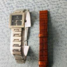 Relojes de pulsera: RELOJ THERMIDOR DE MUJER DE PULSERA, DE CUARZO, TODO DE ACERO INOXIDABLE. Lote 199800307