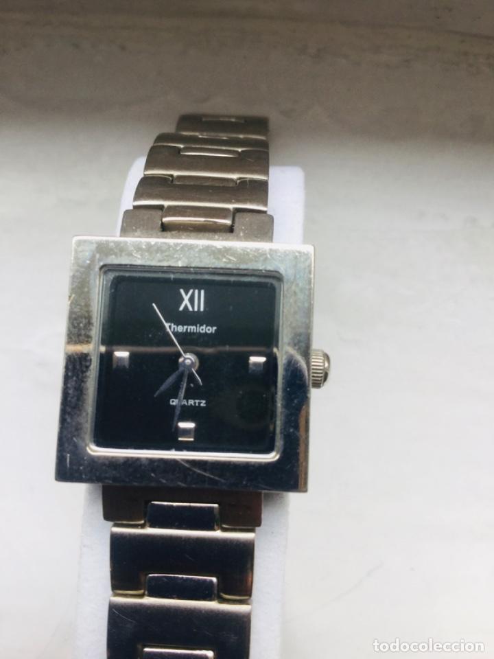 Relojes de pulsera: Reloj Thermidor de mujer de pulsera, de cuarzo, todo de acero inoxidable - Foto 4 - 199800307