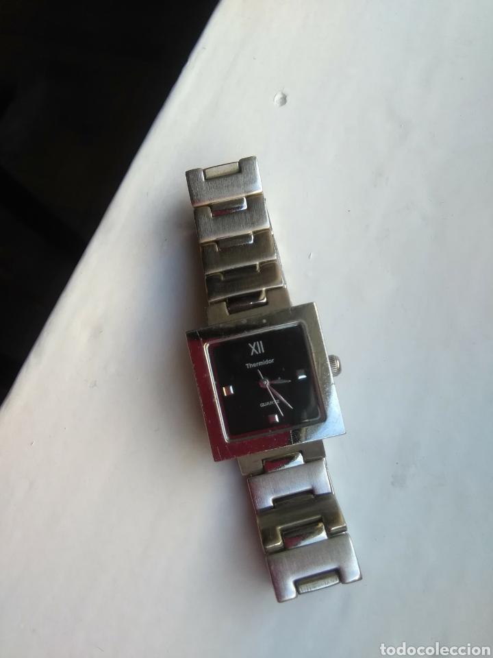 Relojes de pulsera: Reloj Thermidor de mujer de pulsera, de cuarzo, todo de acero inoxidable - Foto 7 - 199800307