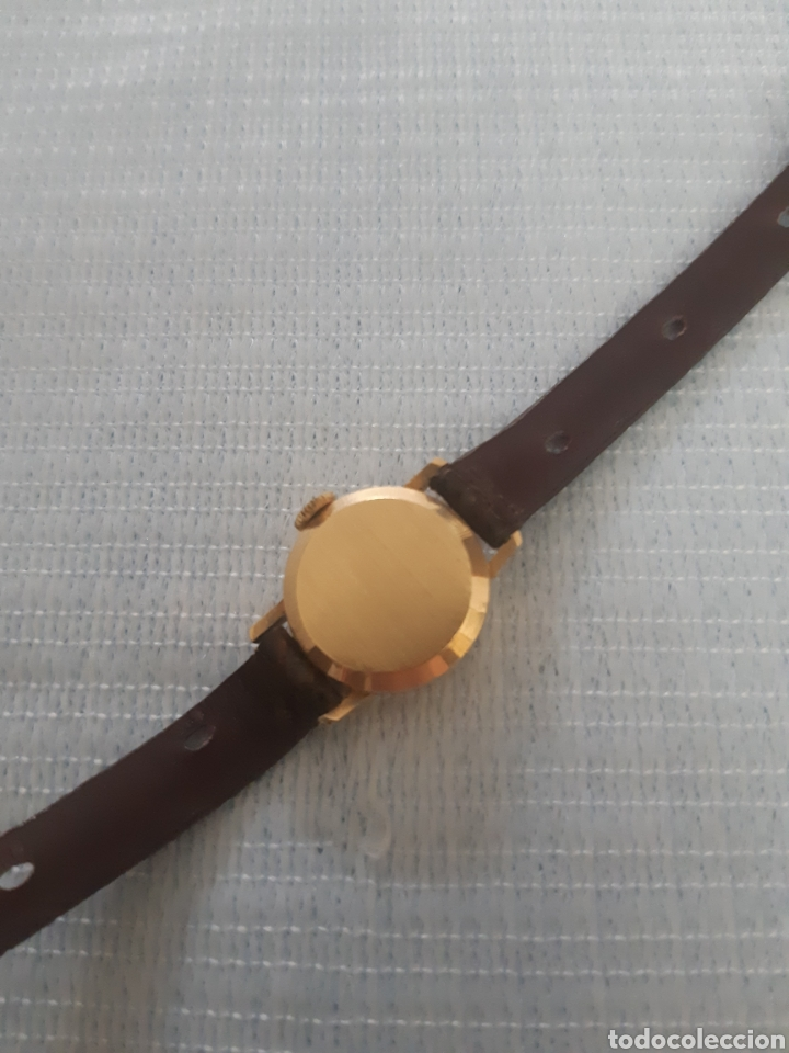 Relojes de pulsera: RELOJ DE ORO TITAN 17 RUBIS - Foto 3 - 199856445