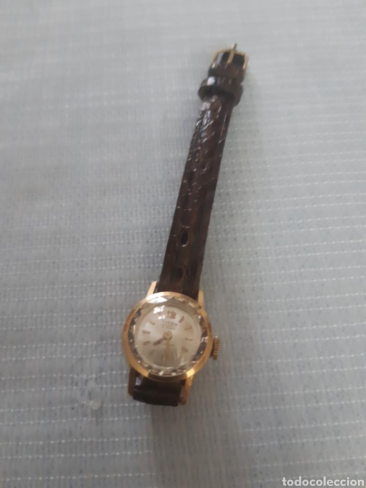 Relojes de pulsera: RELOJ DE ORO TITAN 17 RUBIS - Foto 4 - 199856445