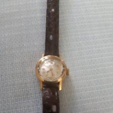Relojes de pulsera: RELOJ DE ORO TITAN 17 RUBIS. Lote 199856445