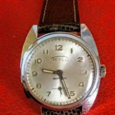 Relojes de pulsera: RELOJ TEYLO CARGA MANUAL 17 RUBIS.. Lote 200057972