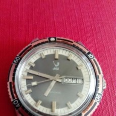 Relojes de pulsera: IMPONENTE RELOJ JAZ DE 38 MM. Lote 200078658