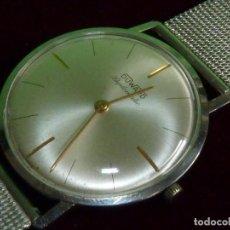 Relojes de pulsera: RARO RELOJ DUWARD CARGA MANUAL CALIBRE AURORE VILLERET 420 SWISS MADE EXTRA PLANO 17 RUBIS AÑOS 60. Lote 200117867