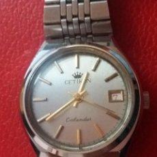 Relojes de pulsera: RELOJ CETIKON CARGA MANUAL CALENDARIO.. Lote 200047176