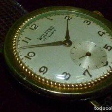 Relojes de pulsera: ELEGANTISIMO RELOJ WOLPINO CALIBRE FHF 26 17 RUBIS PRECIOSA CAJA AÑOS 50. Lote 200515275