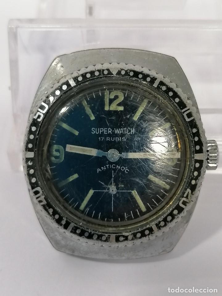 SUPER WATCH (Relojes - Pulsera Carga Manual)