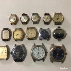Relojes de pulsera: LOTE DE RELOJES ANTIGUOS. Lote 200753418