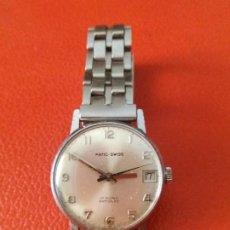 Relojes de pulsera: RELOJ PATIC SWISS 17 RUBIS CARGA MANUAL.. Lote 200801176