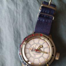 Relojes de pulsera: RELOJ MILITAR RUSO VOSTOK AMFIBIA SUMERGIBLE UNION SOVIETICA DE STOCK. Lote 200804126