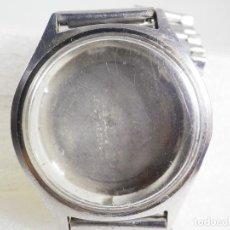 Relojes de pulsera: ORIGINAL CAJA DE RELOJ SEIKO PARA CABALLERO ACERO INOXIDABLE LOTE WATCHES. Lote 226376265