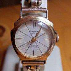 Relojes de pulsera: RELOJ DE MUJER DUGENA FESTA CARGA MANUAL 17 RUBIS. Lote 201209443