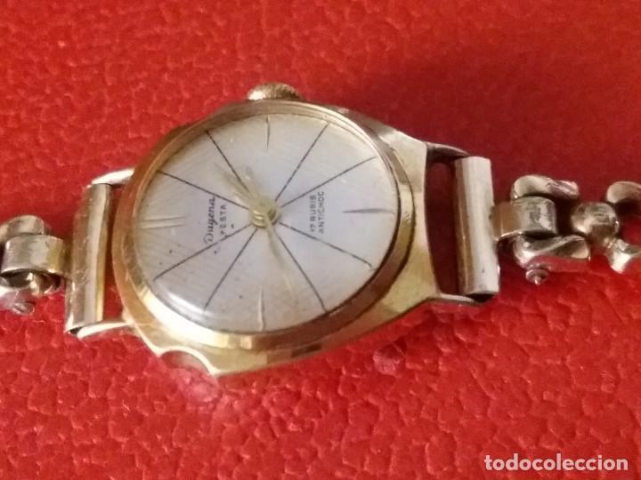 Relojes de pulsera: RELOJ DE MUJER DUGENA FESTA CARGA MANUAL 17 RUBIS - Foto 3 - 201209443