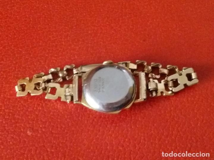 Relojes de pulsera: RELOJ DE MUJER DUGENA FESTA CARGA MANUAL 17 RUBIS - Foto 9 - 201209443