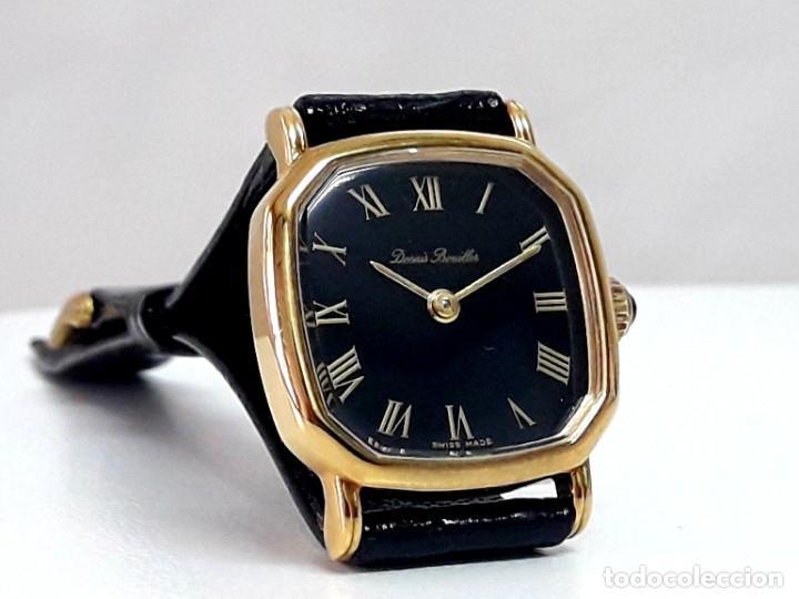 BELLO RELOJ VINTAGE DE SEÑORA MARCA DENNIS BOUILLER AÑOS 70 CARGA MANUAL Y NUEVO (Relojes - Pulsera Carga Manual)