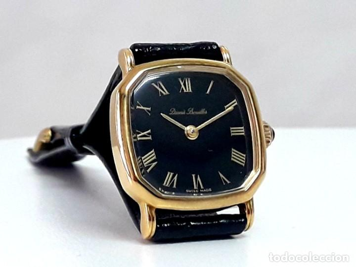 Relojes de pulsera: BELLO RELOJ VINTAGE DE SEÑORA MARCA DENNIS BOUILLER AÑOS 70 CARGA MANUAL Y NUEVO - Foto 3 - 201305288