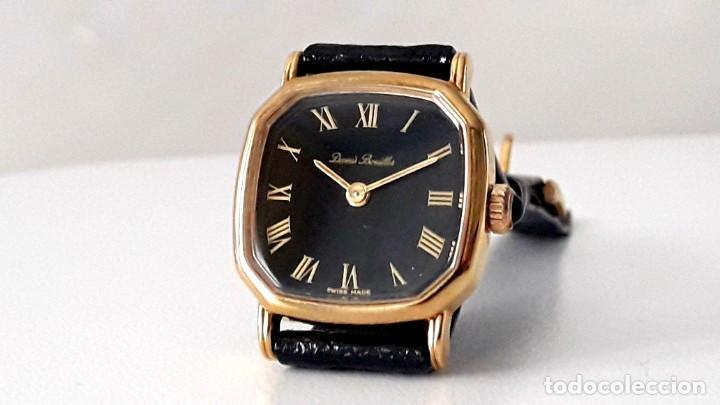 Relojes de pulsera: BELLO RELOJ VINTAGE DE SEÑORA MARCA DENNIS BOUILLER AÑOS 70 CARGA MANUAL Y NUEVO - Foto 4 - 201305288