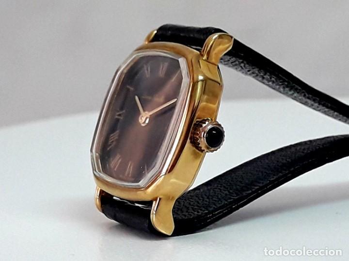 Relojes de pulsera: BELLO RELOJ VINTAGE DE SEÑORA MARCA DENNIS BOUILLER AÑOS 70 CARGA MANUAL Y NUEVO - Foto 5 - 201305288