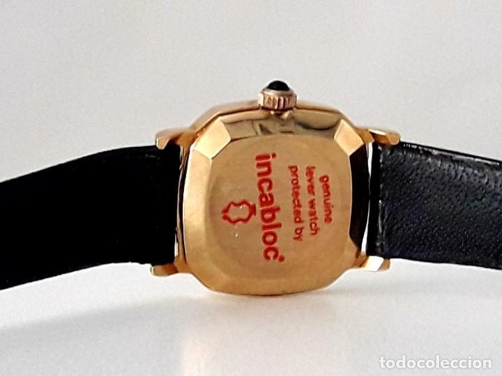 Relojes de pulsera: BELLO RELOJ VINTAGE DE SEÑORA MARCA DENNIS BOUILLER AÑOS 70 CARGA MANUAL Y NUEVO - Foto 7 - 201305288