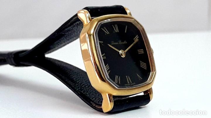 Relojes de pulsera: BELLO RELOJ VINTAGE DE SEÑORA MARCA DENNIS BOUILLER AÑOS 70 CARGA MANUAL Y NUEVO - Foto 8 - 201305288