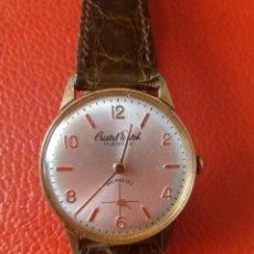 Relojes de pulsera: RELOJ CRITAL WATCH CARGA MANUAL 17 RUBIS.. Lote 201841421