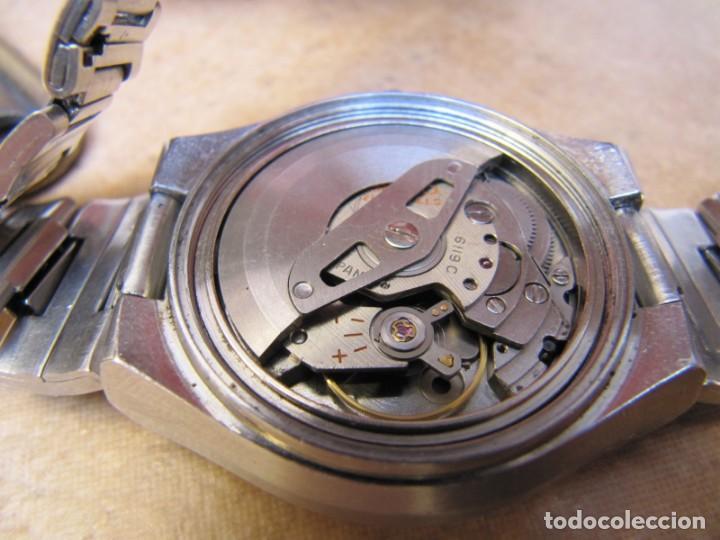 Relojes de pulsera: ANTIGUO RELOJ AUTOMÁTICO SEIKO 5 MODELO 6119 - 5413. 21 RUBIS - Foto 16 - 201958271