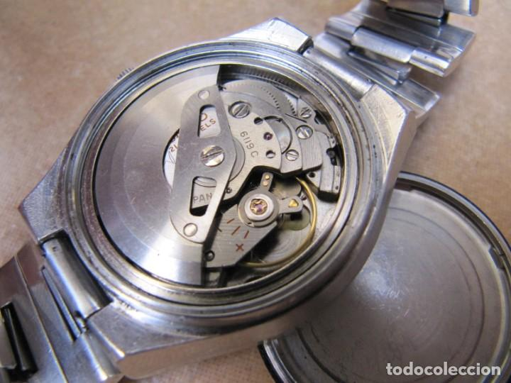 Relojes de pulsera: ANTIGUO RELOJ AUTOMÁTICO SEIKO 5 MODELO 6119 - 5413. 21 RUBIS - Foto 17 - 201958271