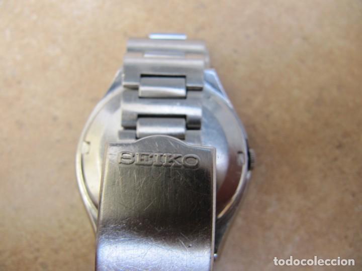 Relojes de pulsera: ANTIGUO RELOJ AUTOMÁTICO SEIKO 5 MODELO 6119 - 5413. 21 RUBIS - Foto 21 - 201958271